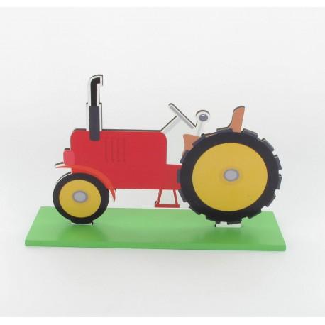 Centre table tracteur 12x18cm