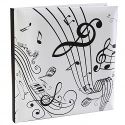 Livre d'or musique blanc