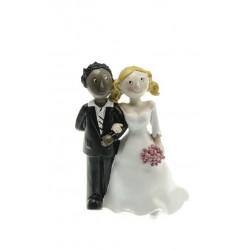Couple marié white and black 2