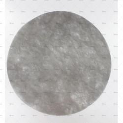10 sets ronds 36cm blancs