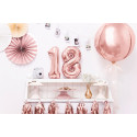 ballon 1 rose gold 86cm