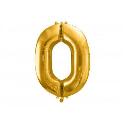 ballon 0 gold 86cm