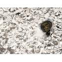 Confettis push pop Argent