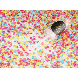 Confettis push pop mix