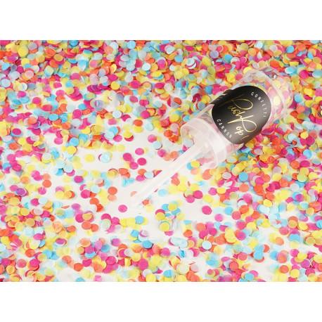 Confettis push pop mix