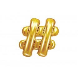 Ballon  gold 35cm