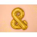 Ballon & gold 35cm