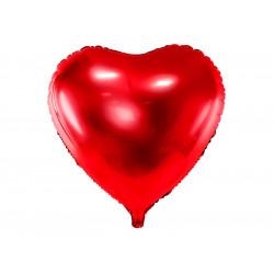 Ballon coeur rouge 61cm