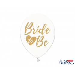 Ballons Bride to be gris (x6)