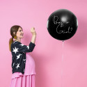 Ballon boy or girl rose 1m