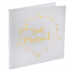 Livre d'or just married Or