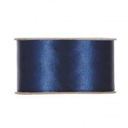 Satin bleu 40mmx25m