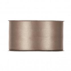Satin brun clair 40mmx25m