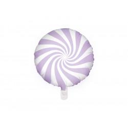 Ballon candy lilas 45cm