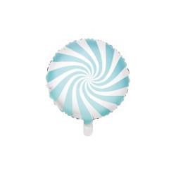 Ballon candy bleu clair 45cm