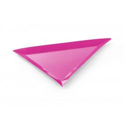 Assiettes triangle (x6)