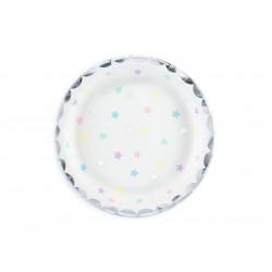 Assiette unicorn x6 18cm