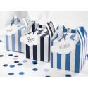 Boites sweet bleu 8.7x12.5cm