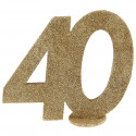 Chiffre 40 or