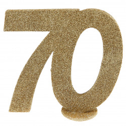 Chiffre 70 or