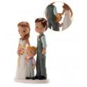 Figurine mariage avec petit garçon
