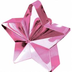 Poids étoile rose pâle