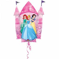 Ballon chateau Princesse Disney