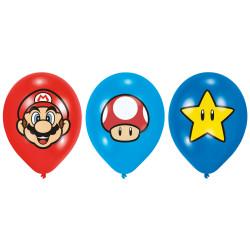 Ballon Super mario (x6)