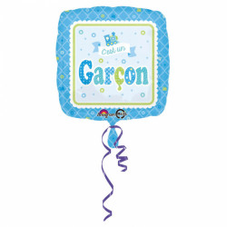 """Ballon """"C'est un garçon"""" 45cm"""