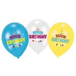 Ballon anniversaire multi
