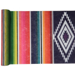 Chemin de table Mexique multi 30cmx5m