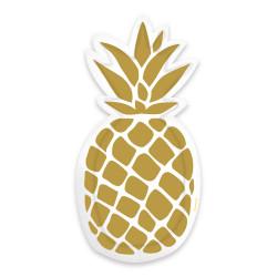 Assiettes ananas (x6)