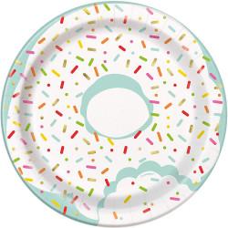 Assiette donuts (x8)