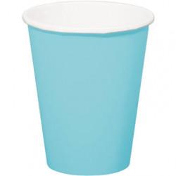 Gobelets bleu 350ml (x8)