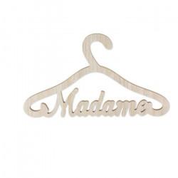 Cintre bois madame 35x20x0.9cm