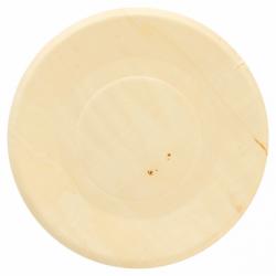 Assiette ronde 21.5cm en bois (x4)