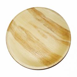 Assiettes feuille palme 25cm (x4)
