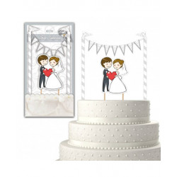 Cake topper Maries