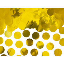 Confettis ronds Or