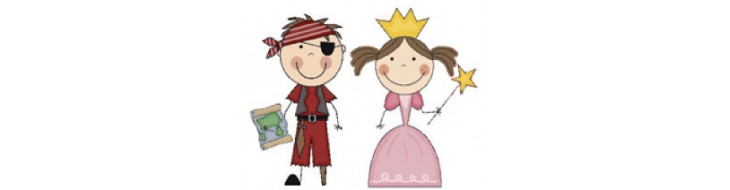 Pirate, Princesse et Chevalier