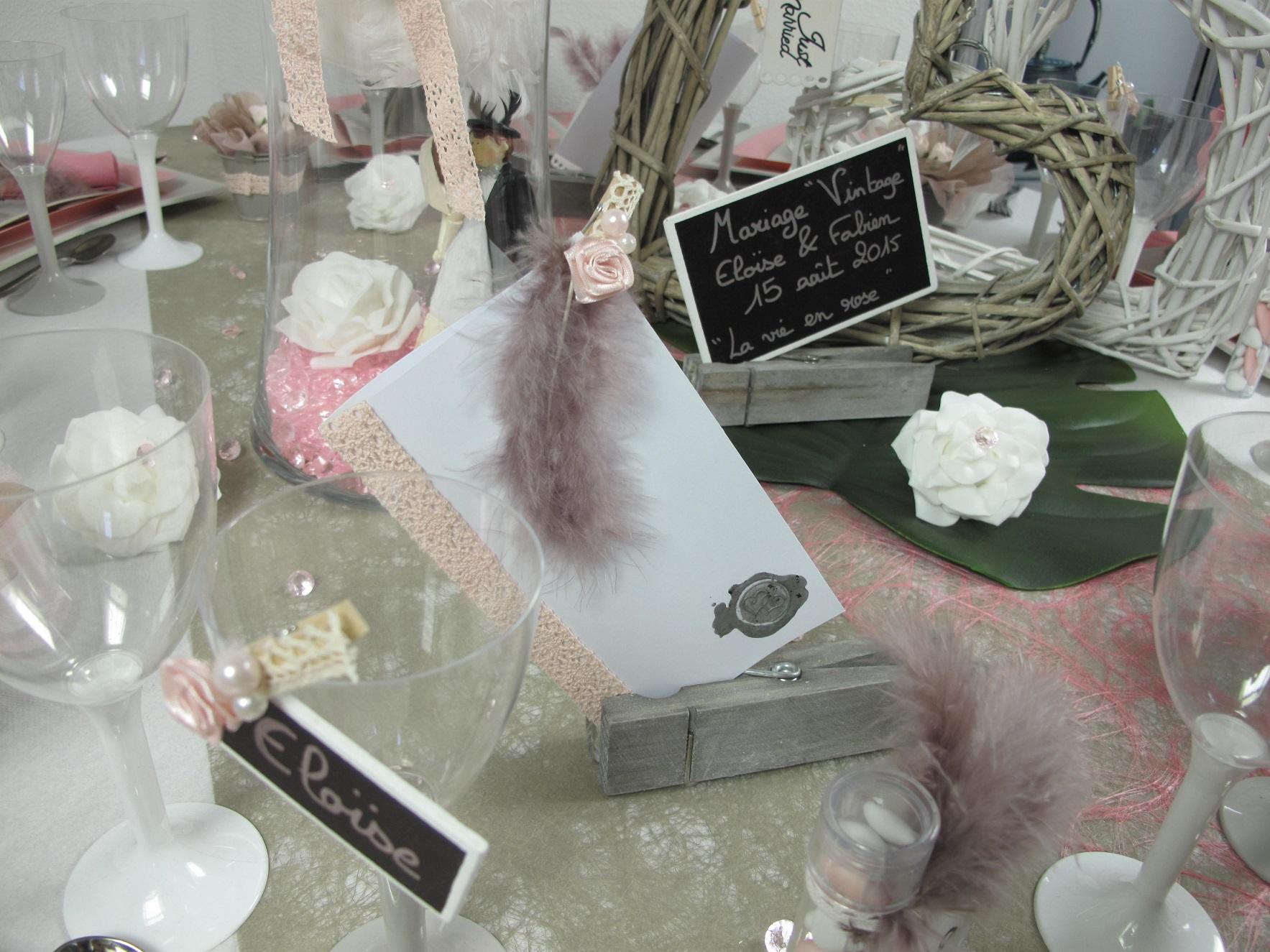 Deco De Table Pour Un Mariage Vintage Idees Deco Id Fetes